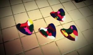 Step 4 Crayon Heart Mold