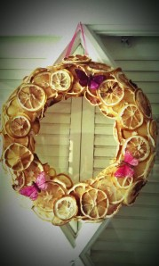 Summertime Lemon Wreath