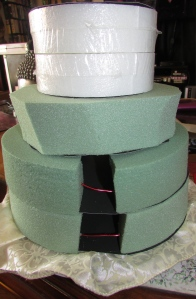 Cake Layers Going on Up